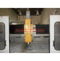 2000 Breton NC-350 CNC dual table stone machine