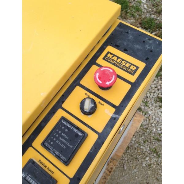 1999 kaeser sm 11 compressor rh stonemachinerysales com Kaeser Air Compressor Kaeser Air Dryer Manual