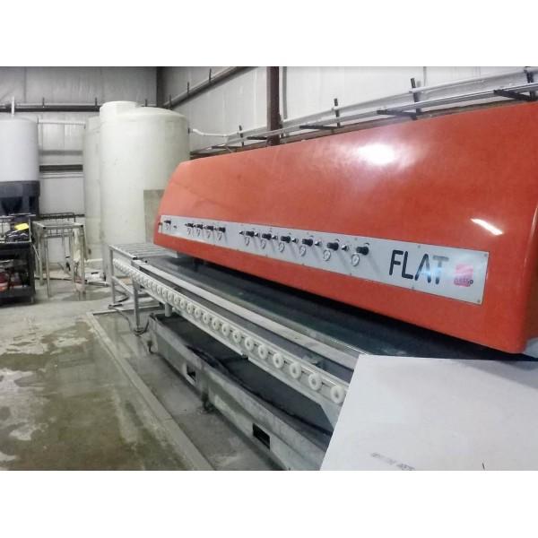 Sasso Flat 6 4 Edge Machine