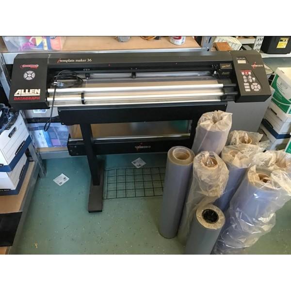 Laser products lt 55 xl 36 vinyl plotter maxwellsz