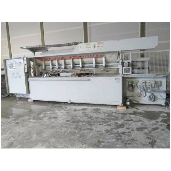 2004 Comandulli Speedy System D Edge Polishing Machine