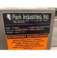 2009 Park Industries Fastback Flat Edge Polisher